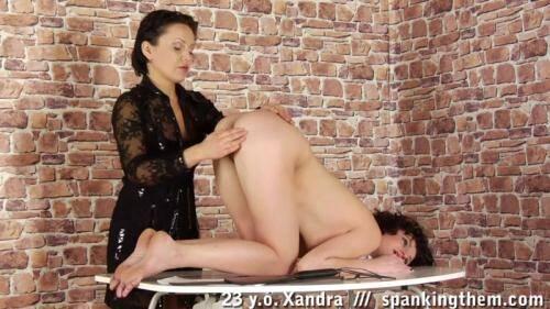 SpankingThem.com [Xandra (23)] HD, 720p)