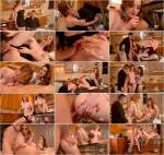 Zara DuRose, Lucia Love - Threesome In The Kitchen [DDF] 540p