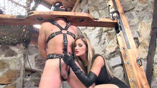 Teased And Ruined By Nikki Whiplash sltarbnw [FullHD, 1080p] [Sado-ladies.com] - Femdom