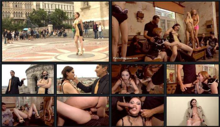 PublicDisgrace.com - Tina Kay Gets Put in Her Place (BDSM) [HD, 720p]