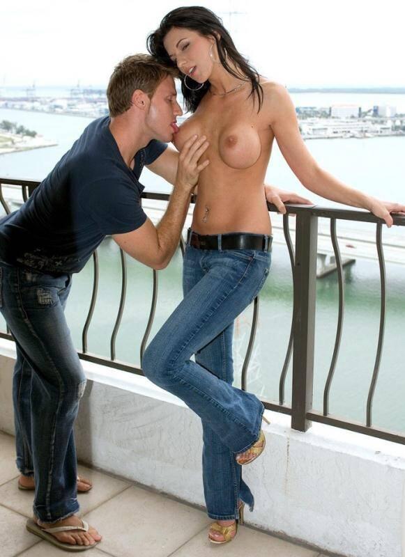 PornMegaLoad/Scoreland - Karina O Reilley - Balcony Boning [2016 FullHD]