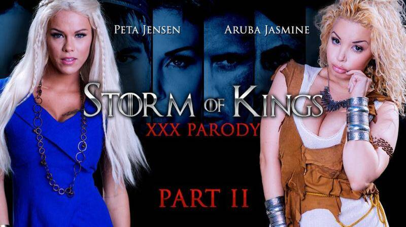 Aruba Jasmine & Peta Jensen (Storm Of Kings XXX Parody: Part 2 / 30.04.16) [SD]