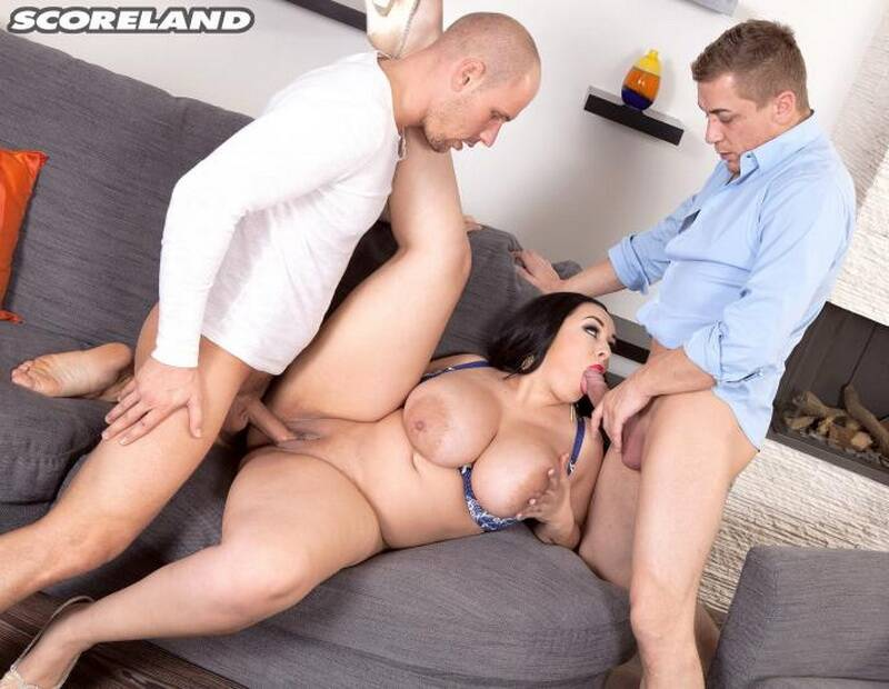 Scoreland - Anastasia Lux - Three On A Sex Spree [2016 HD]