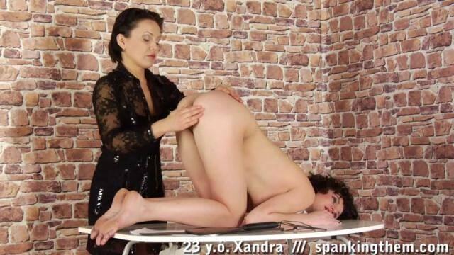 SpankingThem - Xandra (23) [HD, 720p]