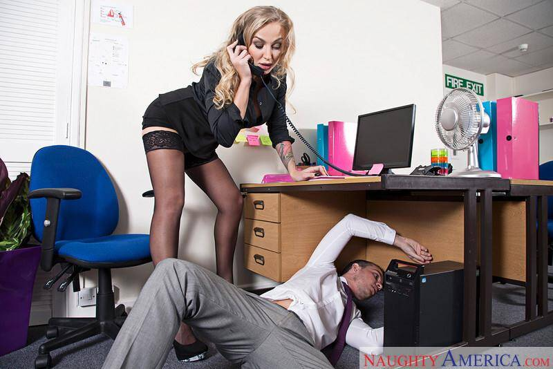 Naughty Office - Kayla Green - Hard sex with MILF (20989 / 04.04.16) [SD]