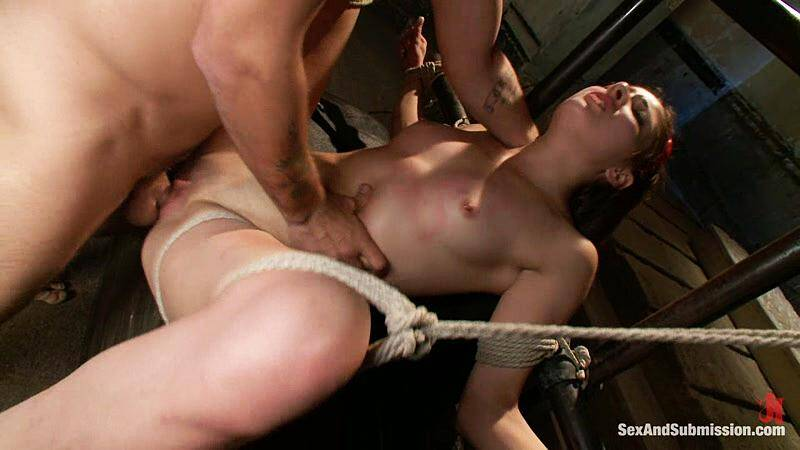 SexandSubmission.com: Evilyn Fierce - Bondage and Fuck! [HD] (646 MB)