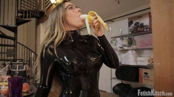 FetishKitsch.com - Samantha Grace - Samantha's Chastity Part 1 (Latex) [HD, 720p]