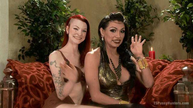 Shemale and Female - Kajira Bound is TS Jessy Dubai's sex slave [HD, 720p]