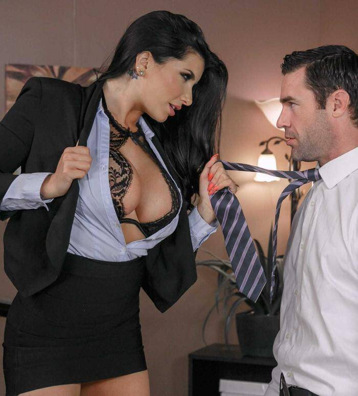 Tits and School: Romi Rain - No Student Teacher  [SD 480p]  (Big Tits)