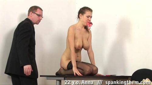 SpankingThem.com [Anna (22) - Part 2] HD, 720p)