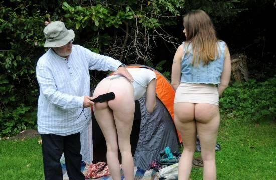 Spanking - Aleesha & Molly - Camper Spanker (BDSM) [SD, 540p]