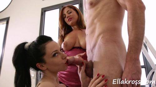 [Me and Anne Repay a Handyman with Our Hot Bodies!] FullHD, 1080p