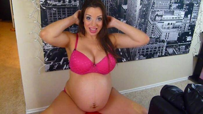 Clips4sale.com - Lacy Luck - 40wks 4days and Growing (Pregnant) [HD, 720p]