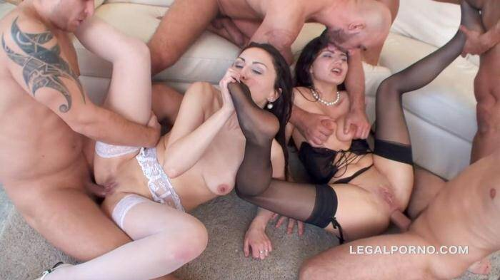 L3g4lP0rn0.com - Double Addicted with Squirt Overflood. Francesca Dicaprio and Kirschley Swoon. ATM/SPITTING/MANHANDLE/MULTIPLE SWALLOW GIO172 (Group sex) [SD, 480p]