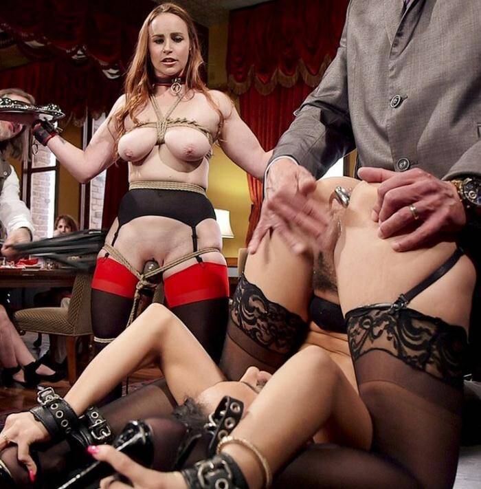 TheupperFloor, Kink: Bella Rossi, Holly Hendrix - Tiny 18 Year Old Anal Slave Double Stuffed  [SD 540p]  (BDSM)