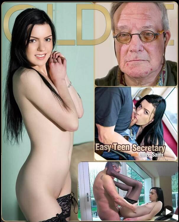 Oldje - Luize Saint - Oldje №542 - Easy Teen Secretary [2016 FullHD]