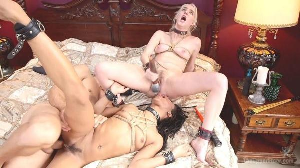 Cadence Luxx and Kira Noir - Exquisite Anal Submission - TheUpperFloor.com (HD, 720p) [BDSM, Anal, Bondage, Threesome, Squirting, Domination, BJ, Hardcore]