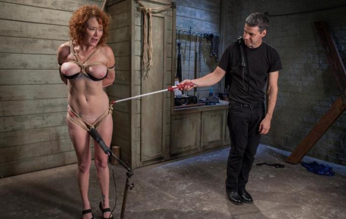 Audrey Hollander - The Training of a Party Girl, Day One [Kink] 540p