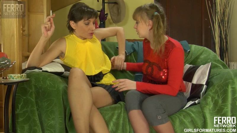 Ferro Network - g916 - Linda, Dorothy (Girls For Matures / Russian Lesbians) [HD]