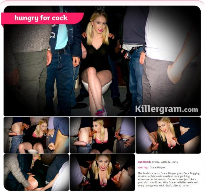 Grace Harper - Hungry For Cock (Group sex) [SD, 360p]