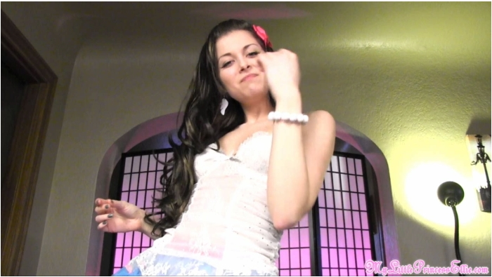 PrincessEllieIdol.com/MyLittlePrincessEllie.com - Princess Ellie Idol - Gulp Your Own Cum  [HD 720]