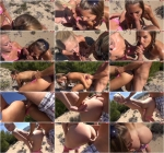 Сrazy Dirty Sex: AO Fickerei am offentlichen Strand [HD] (144 MB)