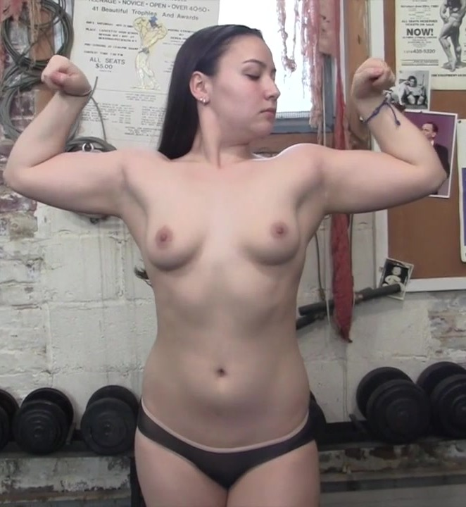 FemaleMusclePOV: Danica Dane - A Fan Gets Too Close  [HD 720]