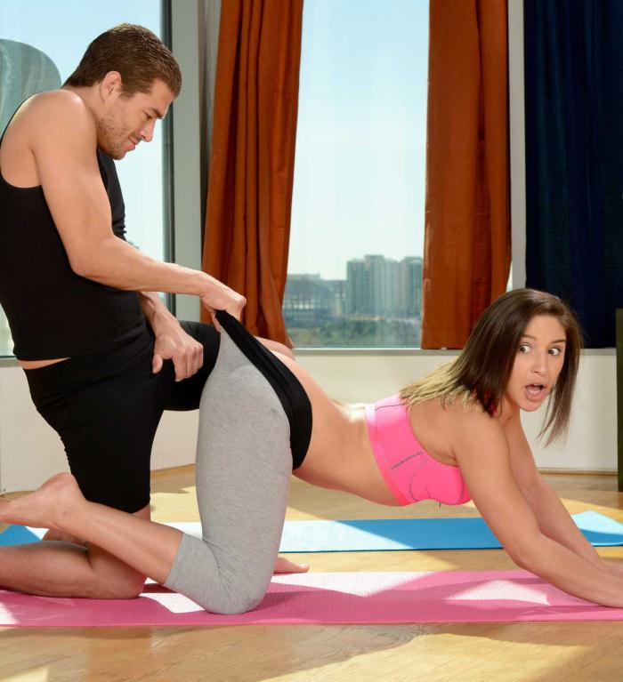Butts Porn: Abella Danger - Yoga Freaks: Episode One  [HD 720p 835 MiB]  (Anal)