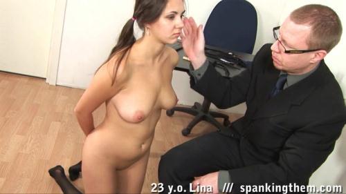 SpankingThem.com [Lina (23)] HD, 720p)