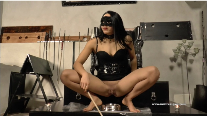 MistressGaia: Mistress Gaia - Shit training lesson  [HD 720 304 MB]  ( Scat, Italia)