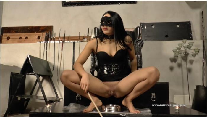 MistressGaia: Mistress Gaia - Shit training lesson  [HD 720 304 MB]  (Scat, Italia)