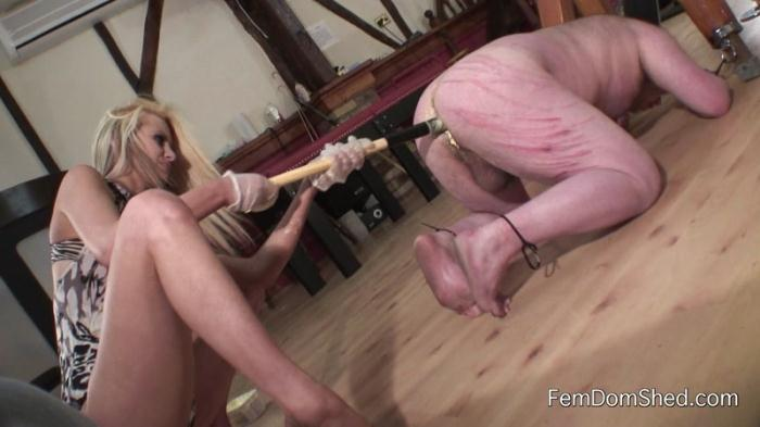 FemdomShed.com - Princess Brook Ass fucked bitch (Strapon) [FullHD, 1080p]