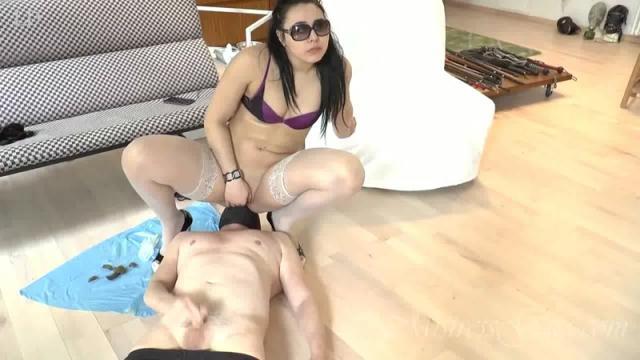 Scat Porn - Choke On My Scat [FullHD, 1080p]