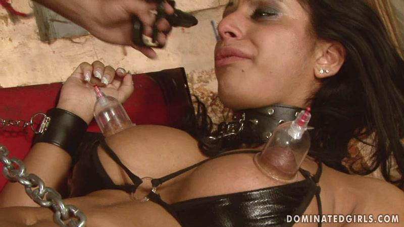 DominatedGirls.com: Kyra Black - Domination victim [HD] (1.34 GB)