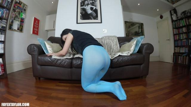 FayeXTaylor, Clips4sale - Blue Tights [FullHD, 1080p]