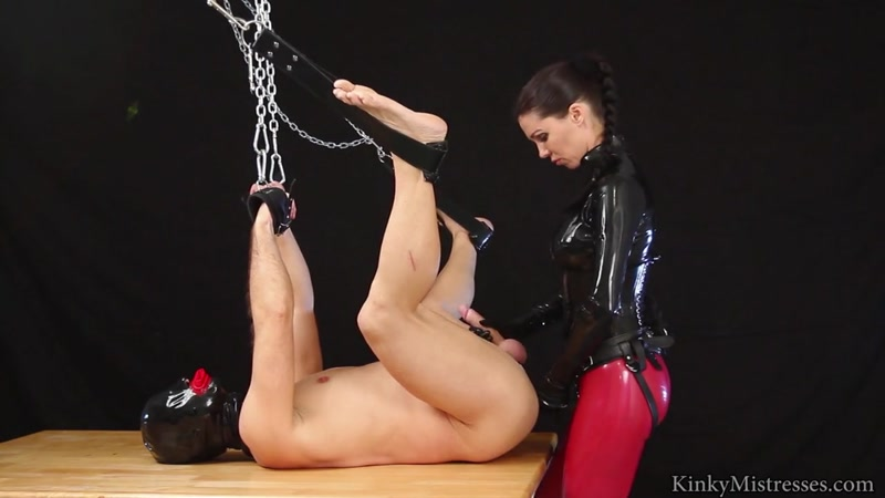 Kinky Mistresses - The Anal Slut On The Table (17 Apr 2016) [HD]