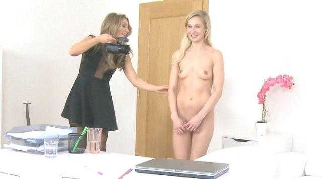 Agent Fucks Shy Blonde with Dildo [SD, 368p]