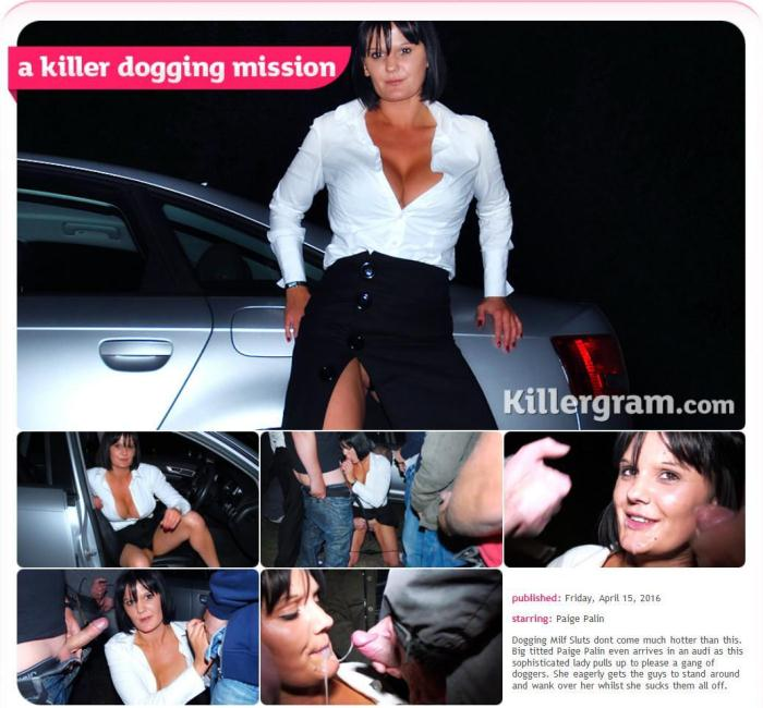 Paige Palin - A Killer Dogging Mission 360p