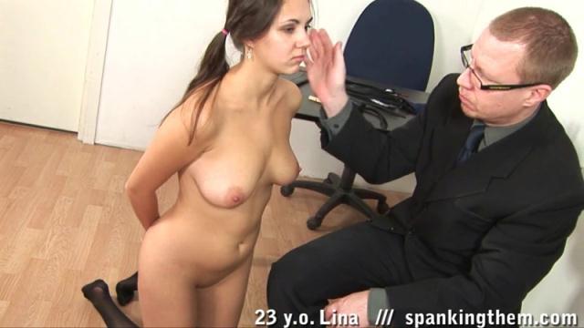 SpankingThem - Lina (23) [HD, 720p]