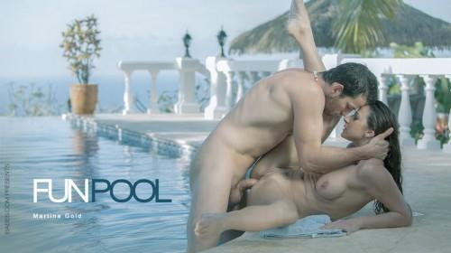 Fun Pool (SD, 480p) [Anal, Brunette, Gonzo, Couples]