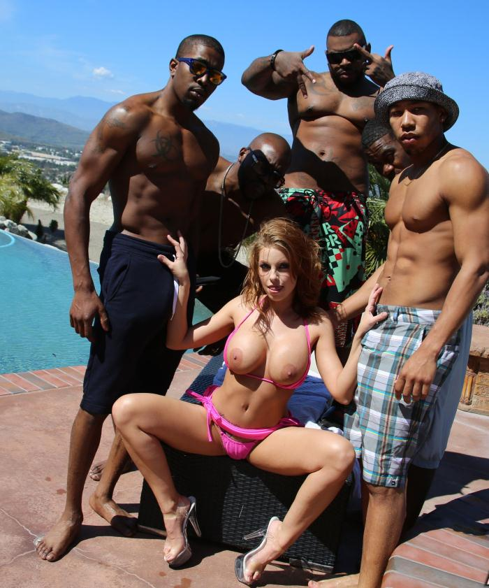 Blacks and Blondes - Britney Amber - Interracial Porn  [HD 720p]
