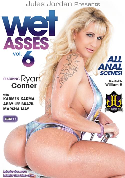 Jules Jordan Video: Ryan Conner,Abby Lee Brazil,Marsha May,Karmen Karma - Wet Asses 6 [DVDRip 404p]