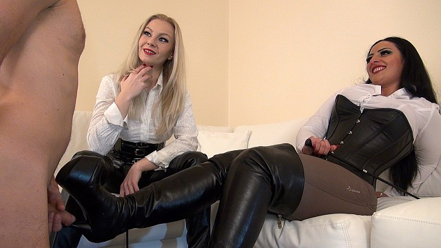 KinkyMistresses: Mistress Ezada Sinn, Mistress Lilse - With Part 1 Of 2  [HD 720p]  (Femdom)