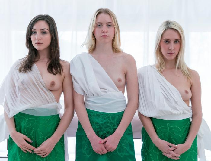 MormonGirlz: Amy, Kara, Katherine, Robin - Amy: Unveiling  [FullHD 1080p]  (Lesbians)