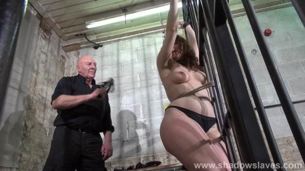 Slavegirl Beauvoir - Prison Camp 4 - Solitary - ShadowSlaves.com (HD, 720p) [BDSM, Torture, Punishment, Spanking, Whipping, Toy, Forced Orgasm]