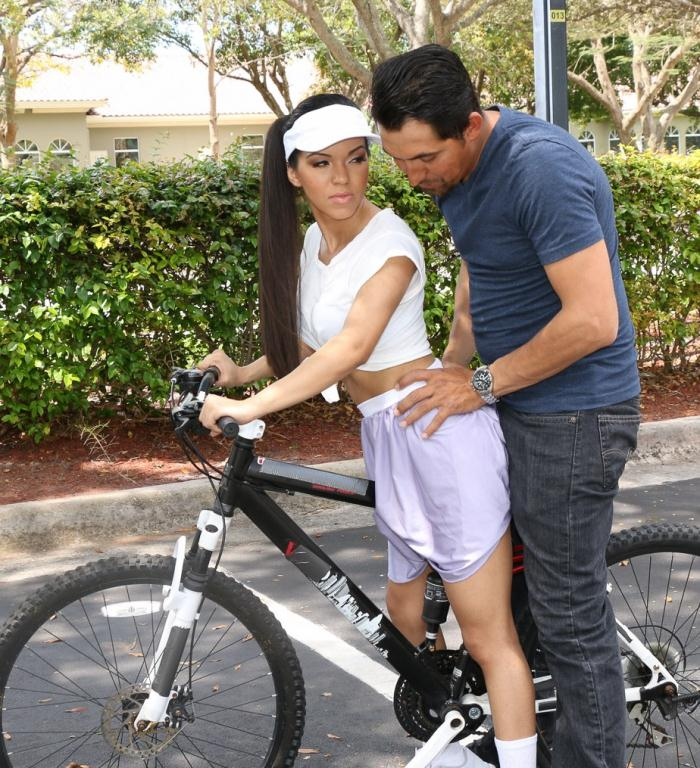 TeamSkeet: Emily Mena - Itty-Bitty Bicyclist  [HD 720p]  (Big Tits)