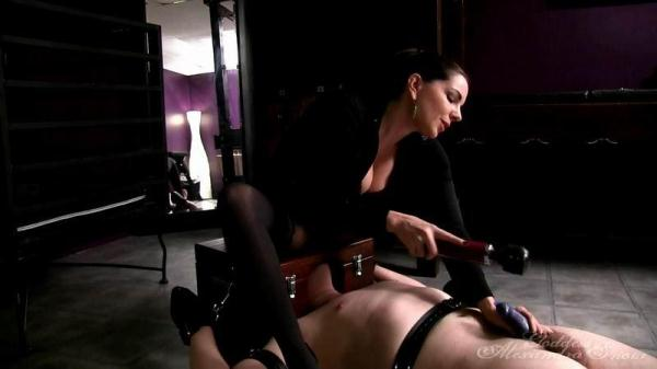 Snow - Erection Destroyer - GoddessSnow.com (HD, 720p) [Femdom, Bondage, CBT, Ruined Orgasms, Smother, Cock Slapping, Pantyhose]