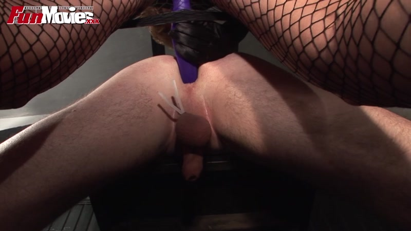 Fun Movies - Bondage Pleasure with Strapon Fuck! [HD]