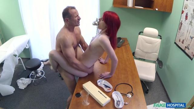 Cute Redhead Rides Doctor for Cash [SD, 480p]