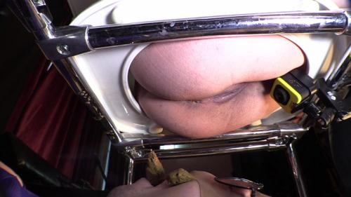 Scat [Princess Gina acquires an obedient toilet slave - Femdom] FullHD, 1080p